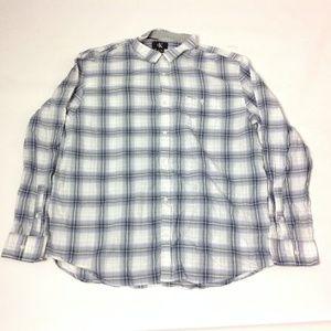Calvin Klein Men's Shirt 100% Cotton Size XL
